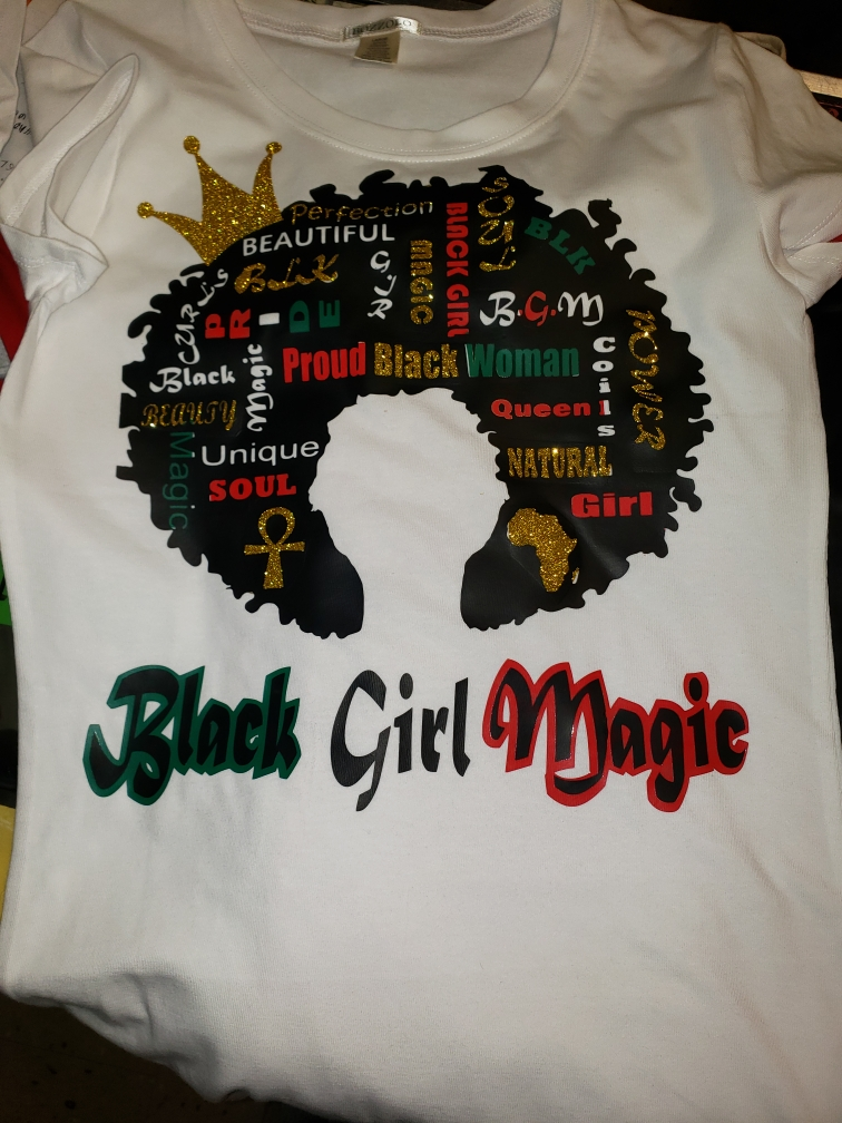 T-Shirt Black Girl Magic